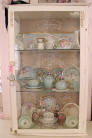 Shabby Chic Com by Curio Cabinet White Curio Cabinet Imposing Shabby Chic Photo