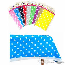 gold polka dot table cover polk dot plastic tablecloth tablecover baby shower birthday party