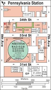 Msg Floor Plan by Penn Station Pennsylvania Station Madison Square Garden