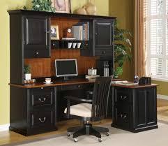 black desk with hutch small computer desk with hutch style manitoba design