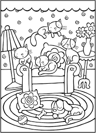 25 cat colors ideas mandala coloring pages