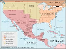 Map Of Mexico And South America by Spanish Texas The Handbook Of Texas Online Texas State