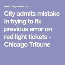 city of chicago red light tickets pinterest the world s catalogue of ideas