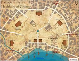 Create A Map Route by Paizo Com Round 2 Create A Map Escape From The Fleshfairs Of Okeno