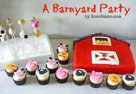 barn cake topper farm themed cake toppers a barnyard party barn animals cupcakes