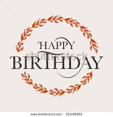 Happy Birthday Design Card Happy Birthday Floral Stock Images Royalty Free Images U0026 Vectors