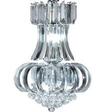 Clear Acrylic Chandelier Clarence Medium 5 Light Clear Acrylic Chandelier Acrylic