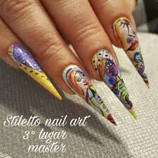 50 bold stiletto nail art that gives girls the daring look