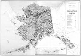 Alaska Rivers Map by National Park Service Alaska National Interest Lands Conservation