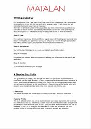 Format Of Resume Great Examples Of Resumes