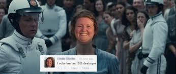 I Volunteer Meme - i volunteer as isis destroyer linda glocke i will destroy isis