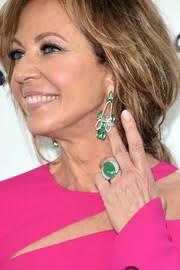 osbourne earrings dangling gemstone earrings looks stylebistro