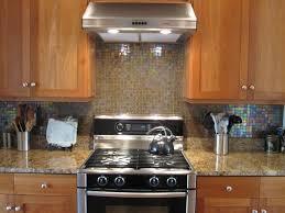 home design khaki glass tile kitchen backsplash with white