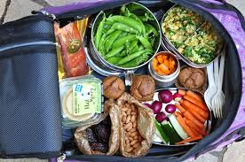 travel food images Nourishing meals packing healthy food for air travel JPG
