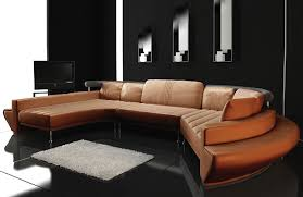 Sectional Sofa Set Modern Leather Sectional Sofa Set Tos Lf 2056