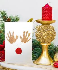 childrens christmas card christmas lights card and decore