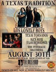 Backyard At Bee Cave A Texas Tradition Feat Los Lonely Boys Texas Tornados U0026 More In