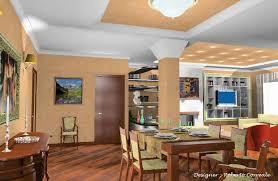 colori per pareti sala da pranzo gallery of arredamento casa soggiorno pranzo salone progetto