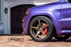 jeep srt jeep srt velgen wheels classic5 wheel set 22x10 5 all around