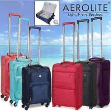 light travel bags luggage aerolite lightweight travel trolley hold hand cabin luggage bags