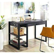 walker edison corner computer desk walker edison computer desk urban blend charcoal desk with storage