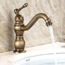 antique style bathroom sink faucets wall mount faucet polished
