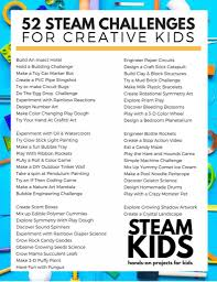 steam kids 50 hands on projects for kids teach beside me