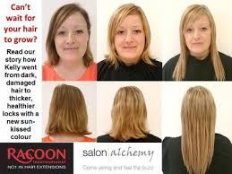 racoon hair extensions racoon hair extensions by lorna salon alchemy