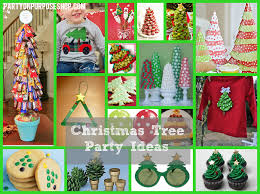 christmas tree party ideas party on purpose
