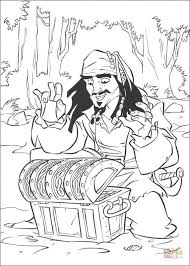 jack finds treasure coloring free printable coloring pages