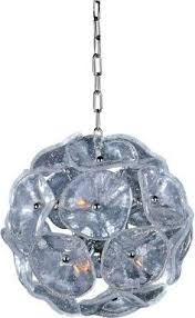Triarch International Chandelier 4 Light Multi Tier Chandelier With Chrome Finish By Triarch