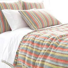 Annie Selke Lyric Stripe Linen Duvet Cover The Outlet