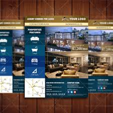 Real Estate Brochure Template by Luxury Condo For Lease Property Listing Template U2013 Real Estate