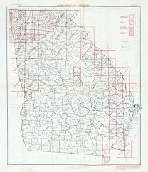 Map Of Georgia And Florida Georgia Historical Topographic Maps Perry Castañeda Map