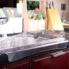 Amazoncom HARRA HOME Kitchen Sink Water Splash Guard For - Kitchen sink splash guard