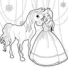Princesse Coloriages Gratuit Imprimable La Coloriage Princesse