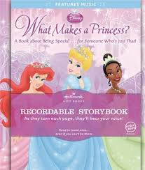 recordable books what makes a princess hallmark recordable book by hallmark