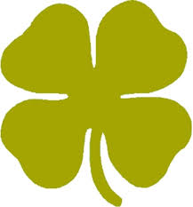 4 leaf clover template decoration leaf clover mirror yellow large free images at clker