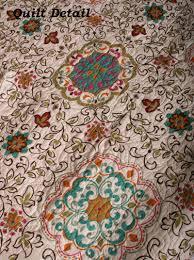 bedding bohemian collection esprit quilt set bohemian bedding sets