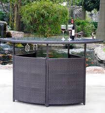 Bar Set Patio Furniture Patio Bar Set Free Home Decor Oklahomavstcu Us
