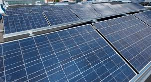 solar panels on roof abb microgrid to integrate solar energy at china plant