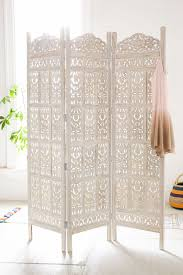 carved wood room divider amber wooden carved screen urban outfitters