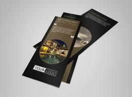 hotel brochure design templates five luxury hotels flyer template mycreativeshop