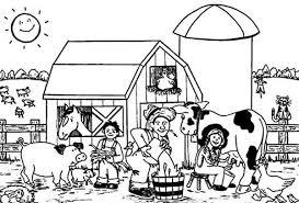Farm House Farm House Designs Farm House Coloring Pages Farm House Farm Color Page