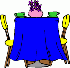 Dining Room Table Clipart Black And White Eating At Table Clip Art 21