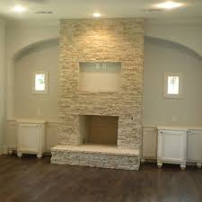 Clean Fireplace Stone by Best 25 Stacked Stone Fireplaces Ideas On Pinterest Stacked