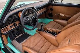 porsche 911 singer interior the malibu car with california feel from singer vehicle design u2013 p9xx