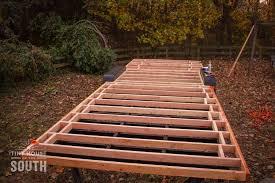 how to frame a floor tiny house subfloor construction part ii