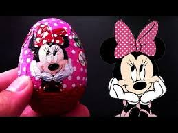 minnie mouse easter egg minnie mouse kinder egg chocolate lababymusica