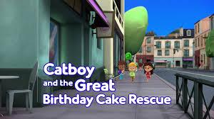 catboy birthday cake rescue disney wiki fandom